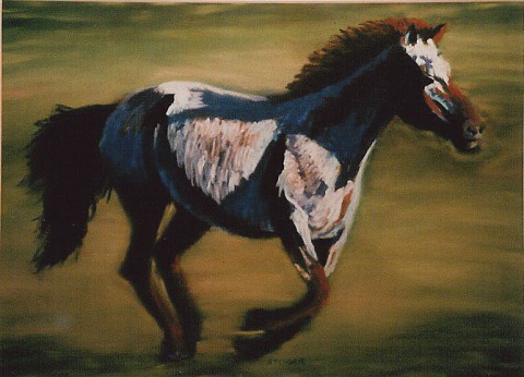 'Running Horse'