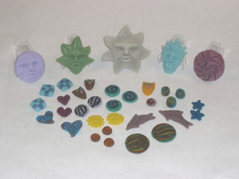 Glass Clay, Pate de Verre