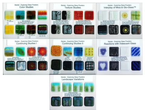 Steider Studios: Powderology, Surface Design for Glass