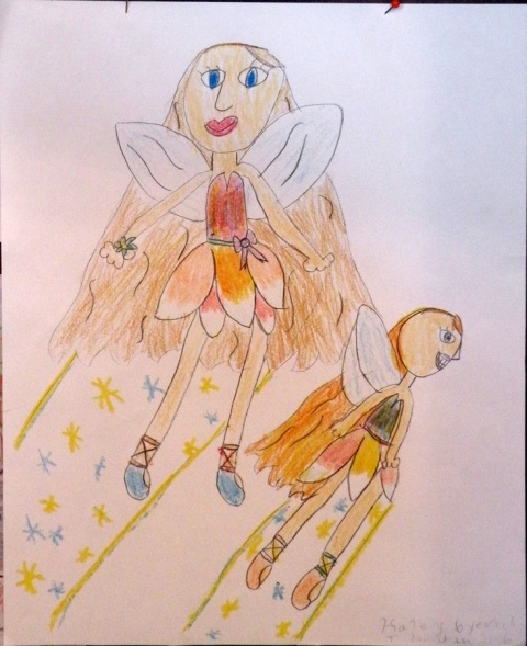 7 year old niece's fairies