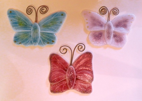 small Blue, Lavender, Pink b'flies