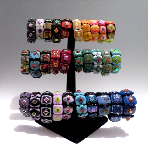 Steider Studios: New Bracelets Just Finished