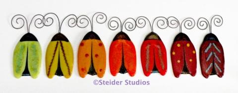 Steider Studios:  Buggettes, Warm Colors