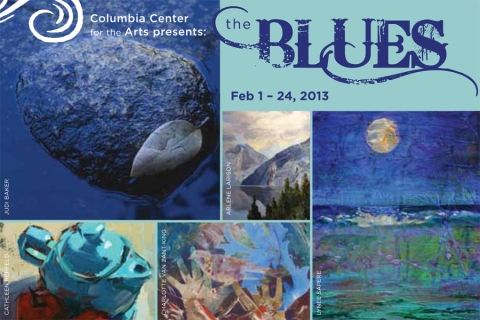 Columbia Arts_Show Card 'The Blues'