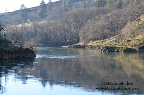 Steider Studios:  Klickitat River 1.12.13