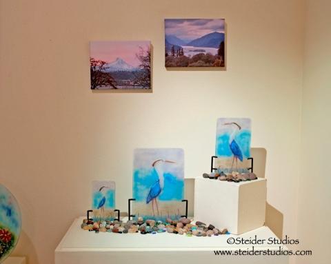 Steider Studios:  Heron Corner. Nook Show
