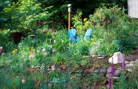Steider Studios:  Garden Chairs 6.22.13