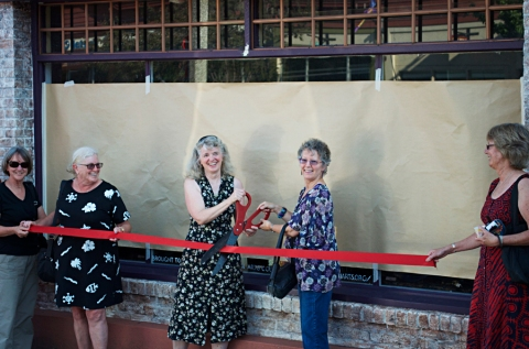 Steider Studios:  Ribbon Cutting with Ann Flemming