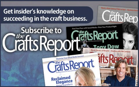 Crafts Report Banner for Steider Studios
