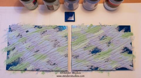Steider Studios.5.Turquoise Panels Process