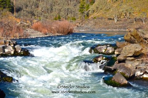 Steider Studios:  Klickitat River Rapids