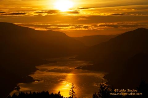 Steider Studios:  Golden Sunset 10.9.13