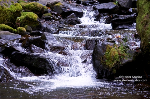 Steider Studios:  Tiny Waterfall