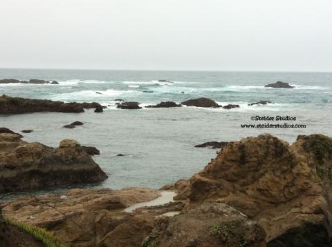 Steider Studios:  Glass Beach Coastline