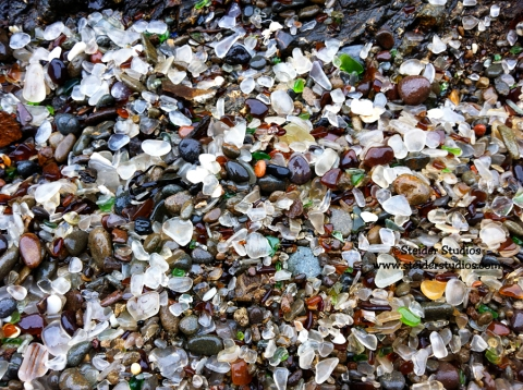 Steider Studios:  Glass Beach
