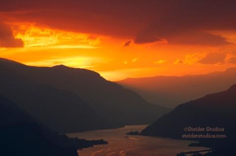 Steider Studios:  Sunset Sky.2.28.14